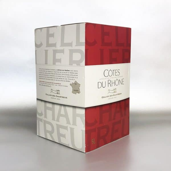 Cotes Du Rhone - 5ltr Bag in Box red wine