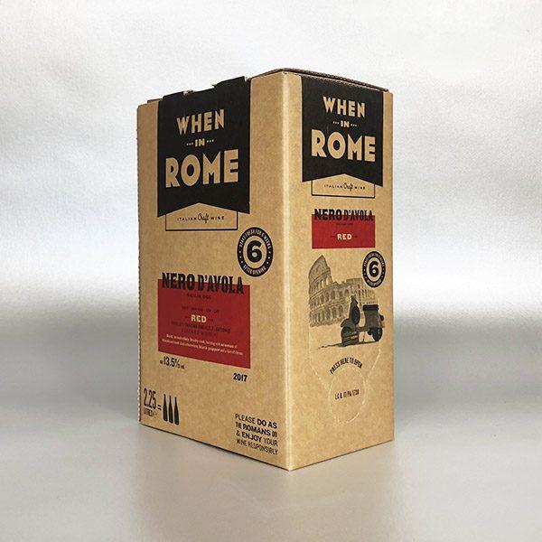 Nero D'avola - When in Rome - 5ltr Bag in Box wine