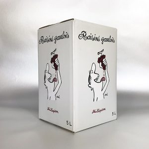 Raisins Gaulois, Lapierre, Vin de France. 5Ltr Bag in Box Wine