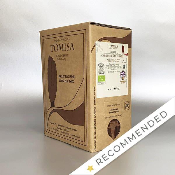 Cabernet Sauvignon - IGP Emilia - 3ltr Bag in Box - Red Wine