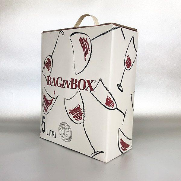 Vino Rosso 5ltr Bag in Box Red Wine