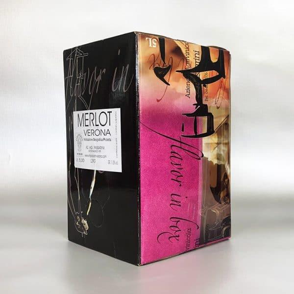 Merlot 5 ltr Bag in Box red wine
