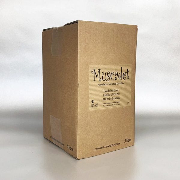Muscadet - 5ltr Bag in Box white wine