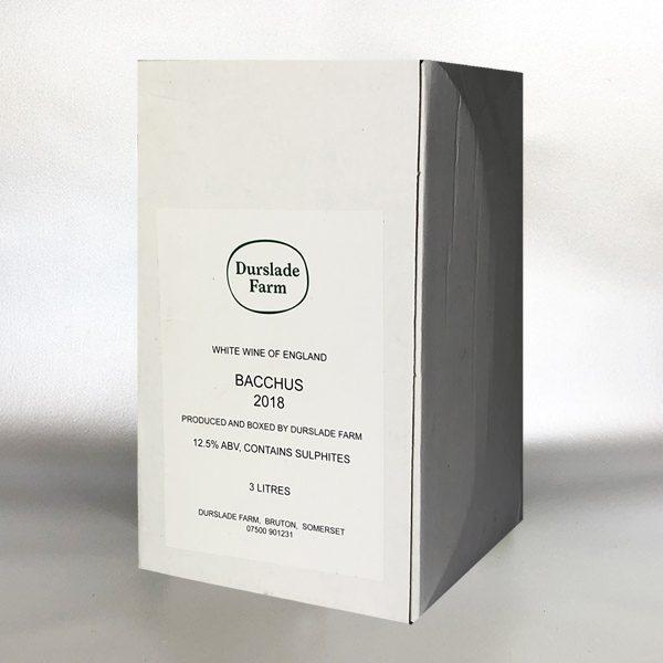 Durslade Farm - Bacchus 3ltr Bag in Box white wine