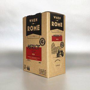 When in Rome - Merlot 3ltr Bag in Box Red Wine
