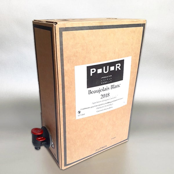 P-U-R Beaujolais Blanc - 3ltr Bag In Box Wine