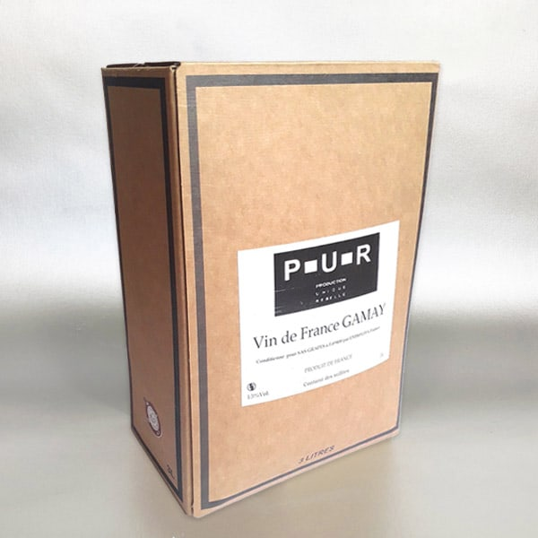 More Wine - Gamay 3ltr Bag in Box Red wine
