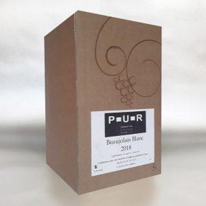 P-U-R Beaujolais Blanc - 5ltr Bag In Box Wine