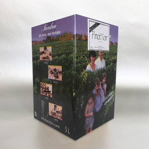 Pinot Noir - Denis Bardon - 5 Litre Bag in Box Red wine