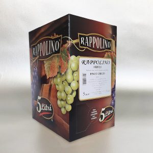Pinot Grigio - % liter Bag in Box white Wine