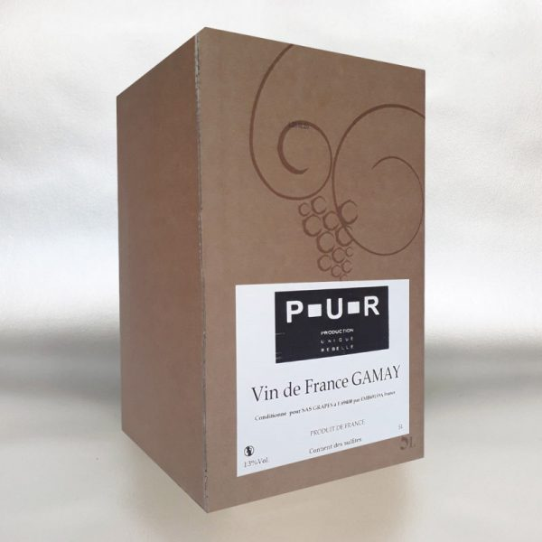 PUR Gamay 5ltr Bag in Box Red Wine