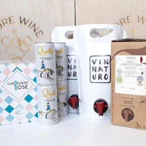 Wine Car Boot - Bag in Box Wine Gift Set