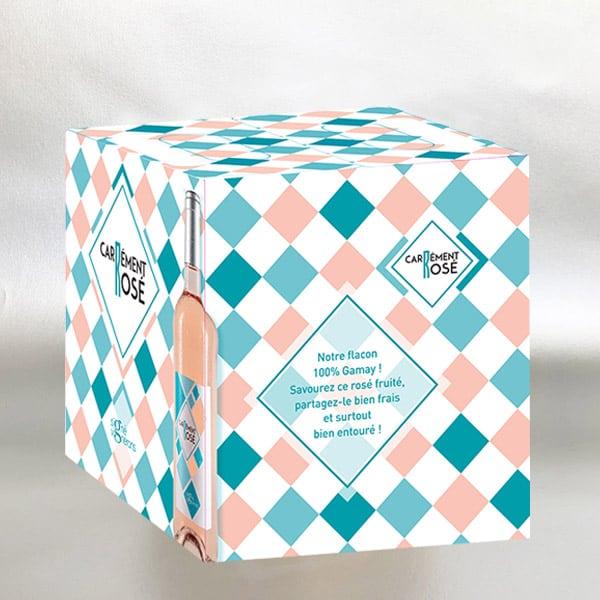 More Wine Carrement Rose - 2.25ltr Bag in Box Rose Wine