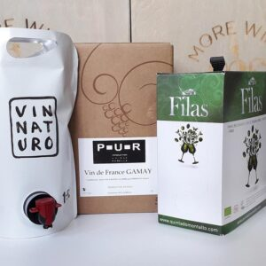 Natural Wine set - Organinc Natural Bag in Box wines