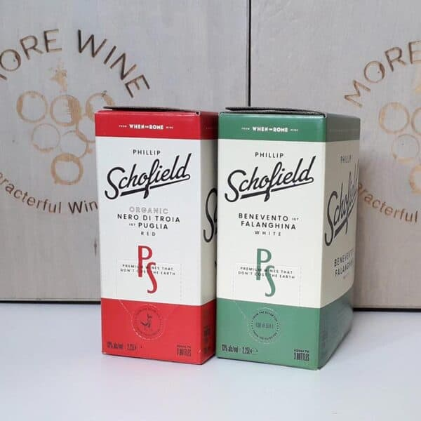 A Pir Of Schofes - BAg in Box red and White wine