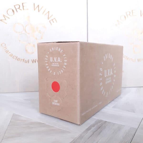 U.V.A. Rosso, Passione Natura, Abruzzo, Italy - 2.2ltr Bag in Box Red Wine