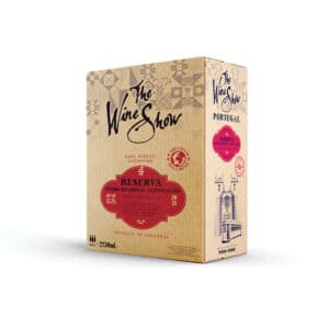 The Wine Show, Vinho Tinto Reserva, Alentejano - 2.5ltr Bag in Box Red Wine