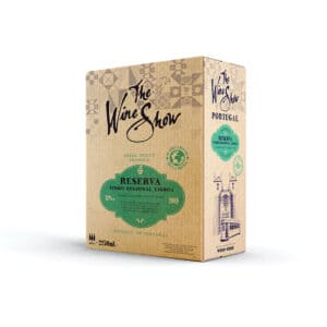The Wine Show, Vinho Branco Reserva, Lisboa - 2.5ltr Bag in Box white wine