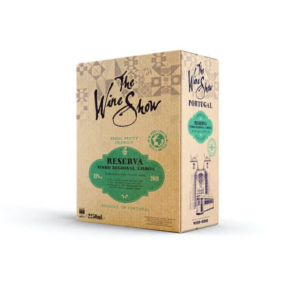 The Wine Show, Vinho Branco Reserva, Lisboa - 2.5ltr Bag in Box white wine